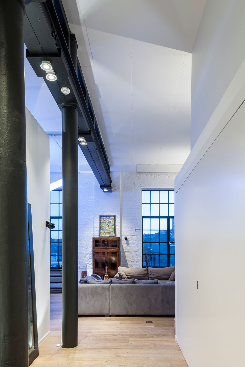 From Rubber Factory To Loft Be Project Delta Light